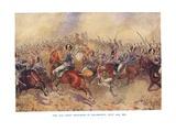 The 12th Light Dragoons at Salamanca, July 22nd 1812 Giclee Print by Bernard Granville-Baker