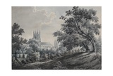 Croydon Church from Duppas Hill Terrace, 1925 Giclee Print by James Bourne