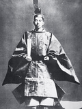 Hirohito, Emperor of Japan at His Enthronement, 1926 Photographic Print by  Japanese Photographer
