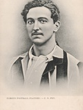 Famous Football Players - C.B. Fry Photographic Print by  English School