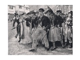 Naval Mutineers Ashore, Illustration from 'British Battles on Land and Sea' Giclee Print by John Cameron