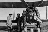 Aircraft Undergoing Repairs, 1916 Photographic Print by  English Photographer