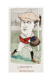 Jimmy Ashcroft, Woolwich Arsenal, Drawing for a Set of Cigarette Cards, 1907 Giclee Print by  Rip