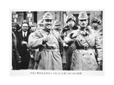 Japanese Invasion of Manchuria, 1933 Giclee Print by  Japanese Photographer