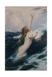 Flying Fish, 1910 Giclee Print by Herbert James Draper