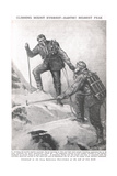 Climbing Mount Everest, Illustration from 'Newnes Pictorial Book of Knowledge', c.1920 Giclee Print by Duncan McPherson