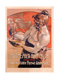 Advertisement for Marmonier Fils-Lyon, Printed by Imp. Tourangelle, Tours, c.1910 Giclee Print by Adolfo Hohenstein