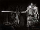 "Still from the Film ""Die Nibelungen: Siegfried"" with Paul Richter, 1924 Fotografie-Druck von  German photographer"