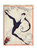 Front Cover of 'La Vie Parisienne', 1922 Giclee Print by Georges Leonnec