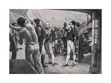 """""""Sir John, There are Twenty Seven Sails of the Line"""", Illustration from 'British Battles on Land… Giclee Print by Walter Stanley Paget"""