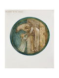 The Flower Book: XXXI. Welcome to the House, 1905 Giclee Print by Sir Edward Coley Burne-Jones