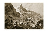 The Battle of Kosovo Giclee Print by John Harris Valda