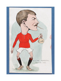William Meredith, Manchester United Giclee Print by  Rip