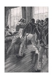 A Scene on Board the Flagship During the Mutiny of the Nore, Illustration f Giclee Print by John Cameron