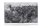 The Battle of Salamanca, Illustration from 'Hutchinson's History of the Nations' Giclee Print by Richard Caton Woodville