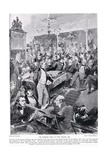 Sir Robert Peel in the House, 1846, Illustration from 'Hutchinson's Story of the British Nation',… Giclee Print by Walter Wilson