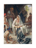 Priscilla, Illustration from 'Women of the Bible', Published by the Religious Tract Society, 1927 Giclee Print by Harold Copping