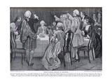 Prince Charles Edward at Holyrood, Illustration from 'Hutchinson's Story of the British Nation',… Giclee Print by William Brassey Hole