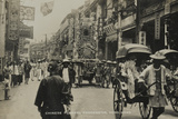 Chinese Funeral Procession, Hong Kong, from an Album of Photographs Relatin Photographic Print by  English Photographer
