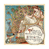 The Peacock's Complaint, Illustration from 'Baby's Own Aesop', Engraved and Printed by Edmund… Giclee Print by Walter Crane