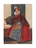 Portia, Illustration from 'The Merchant of Venice', c.1910 Giclee Print by Sir James Dromgole Linton