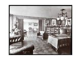 The Study in the Residence of Madame Schumann-Heink, 1906 Giclee Print by  Byron Company