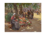 The Flower Seller, 1912 Giclee Print by William Kay Blacklock