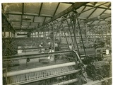 Cloth Weaving Room, Long Meadow Mill, 1923 Photographic Print by English Photographer