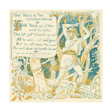 The Trees and the Woodman, Illustration from 'Baby's Own Aesop', Engraved and Printed by Edmund… Giclee Print by Walter Crane