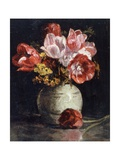 Vase of Flowers Giclee Print by Frederick Brown