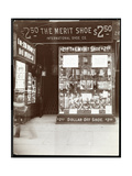 A Storefront of the International Shoe Co., New York, 1905 Giclee Print by  Byron Company