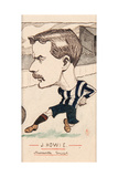 James Howie, Newcastle United Giclee Print by  Rip