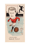 Tim Coleman, Woolwich Arsenal, Drawing for a Set of Cigarette Cards, 1907 Giclee Print by  Rip