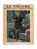 Jean de Reszke as Siegfried, Front Cover of 'Le Theatre' Magazine, 1902 Giclee Print by Paul Nadar