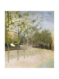 Chelsea Embankment, Plane Trees, 1908 Giclee Print by Paul Fordyce Maitland