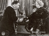 "Still from the Film ""Dishonored"" with Warner Oland and Marlene Dietrich, 1931 Photographic Print by  German photographer"