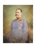 General Alexander Freiherr Von Krobatin, c.1916 Giclee Print by Vienna Nedomansky Studio