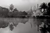 Shan Style Stupas of Wat King Klang and Wat Jong Kham Photographic Print