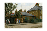 135 to 139 Oval Road: Croydon's Smallest Houses, 1921 Giclee Print by Evacustes Arthur Phipson