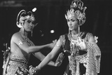 Dancers in Yogyakarta, Java Photographic Print