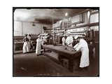 Cooks Working in the Kitchen at Maillard's Chocolate Manufacturers, 116-118 West 25th Street, New… Giclee Print by  Byron Company