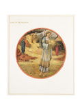 The Flower Book: WW. Star of Bethlehem, 1905 Giclee Print by Sir Edward Coley Burne-Jones