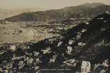 Looking East, Hong Kong, from an Album of Photographs Relating to the Service of Pte H. Chick, 1940 Fotografie-Druck von  English Photographer