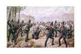 Battle of the Pyrenees, 1813, 1900 Giclee Print by Richard Simkin