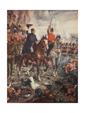 Waterloo, 7pm, June 18th, 1815, Illustration from 'A History of England' by C.R.L. Fletcher and… Giclee Print by Henry Justice Ford