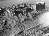 Scene from the Battle of Monte Cassino, 1944 Photographic Print