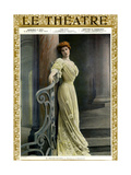 Marthe Brandes, Front Cover of 'Le Theatre' Magazine, 1904 Giclee Print by  Reutlinger Studio