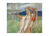 Spring, 1911 Giclee Print by Edward Reginald Frampton