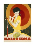 German Advertisement for 'Kaloderma' Soap, Printed by F. Wolff and Sohn, Karlsruhe, 1927 Giclee Print by Jupp Wiertz