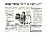 Advertisement for the Pulvermacher Electrological Institute Ltd., Published in 'The Sphere',… Giclee Print by  English School